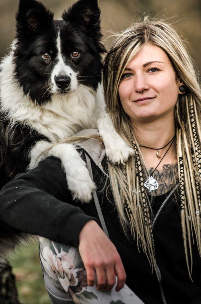 Profilbild Hundetrainerin Laura Heier mit Border Collie